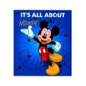 Manta Raschel Infantil Mickey*